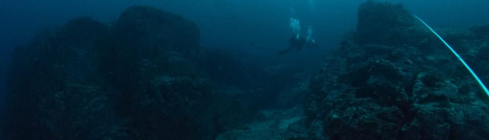 Diving at Windarra Banks by Graeme Haas